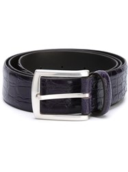 D'amico Buckle Belt Pink And Purple