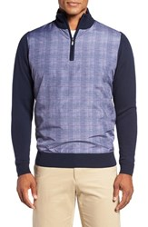 Bobby Jones Men's Hybrid Merino Wool Quarter Zip Sweater