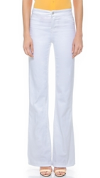 J Brand High Rise Tailored Flare Jeans