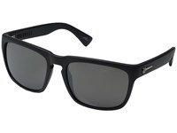 Electric Eyewear Knoxville Dark Chrome Optical Health Through Melanin Dark Silver Chrome Fashion Sunglasses Black