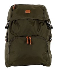 Olive Green X Bag Excursion Backpack Bric's