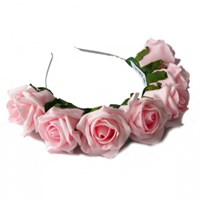 Zt Crown And Glory Whole Lotta Rosie Headband Blush Pink
