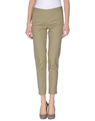 New York Industrie Trousers Casual Trousers Women Military Green