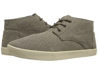 Toms Paseo Mid Desert Taupe Farren 2 Men's Lace Up Casual Shoes Olive