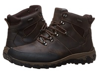Rockport Cold Springs Plus Mudguard Boot Speed Lace Dark Brown Oiled Leather Men's Boots