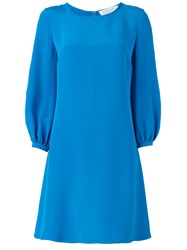 Gianluca Capannolo Flared Dress Blue