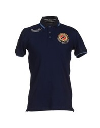 Marville Polo Shirts Dark Blue
