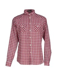 Cesare Paciotti 4Us Shirts Shirts Men Red