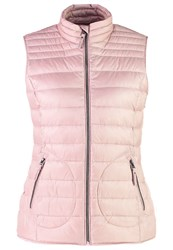 Esprit Waistcoat Old Pink Rose