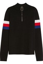 J.W.Anderson Striped Wool Sweater Black