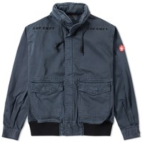 Cav Empt Light Cotton Zip Jacket Blue