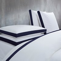 Calvin Klein Canyon Indigo Duvet Cover Super King