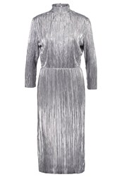 First And I Fispotty Cocktail Dress Party Dress Silver