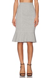 1. State Fish Tail Pencil Skirt Ivory