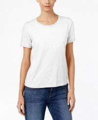 Eileen Fisher Organic Cotton T Shirt White
