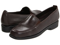 Hush Puppies Heaven Dark Brown Leather Women's Flat Shoes