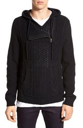 Men's The Rail 'Anacortes' Half Zip Knit Hooded Sweater