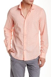 Ganesh Long Sleeve Embroidered Slim Fit Shirt