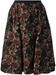 Antonio Marras Floral Skirt Black