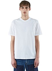 Oamc Perforated T Shirt White