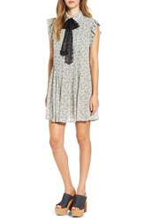 Wayf Women's 'Paxton' Tie Neck Shirtdress