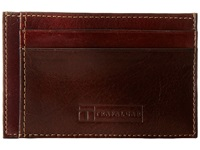 Trafalgar Cortina Card Case Honey Maple Credit Card Wallet Brown