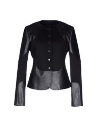 Neil Barrett Blazers Black