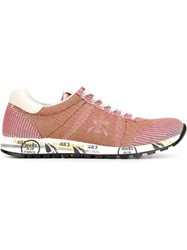 Premiata 'Lucy' Sneakers Pink And Purple