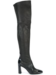 Casadei Over The Knee Boots Black