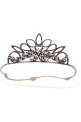 Erickson Beamon Princess Rose Gold Plated Crystal Headband