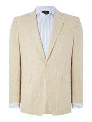 Chester Barrie Elverton Plain Jacket Beige