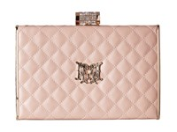 Love Moschino I Love Superquilted Evening Clutch Blush Clutch Handbags Pink