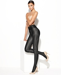 Wolford Neon High Gloss Tights Black