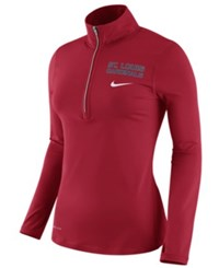 Nike Women's St. Louis Cardinals Element Pullover Red