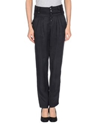 Alpha Studio Casual Pants Black
