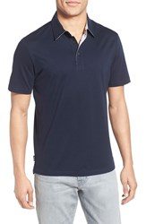 Men's Jack Spade 'Keaton' Trim Fit Polo Navy