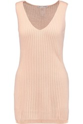 Autumn Cashmere Ribbed Top Neutral