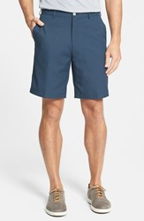 Men's Big And Tall Peter Millar 'Salem' Flat Front Performance Shorts Midnight