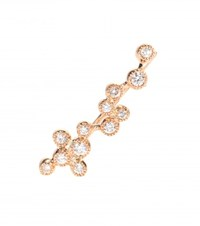 Stone Love Is In The Air 18Kt Rose Gold Single Earring With Diamonds