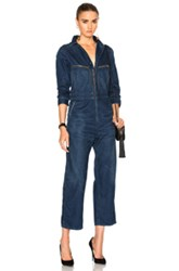Citizens Of Humanity Sylvie Worker Jumpsuit In Blue