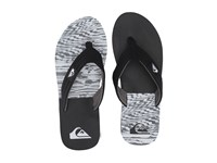 Quiksilver Molokai Layback Black Black White 2 Men's Sandals