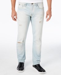 Guess Men's Slim Tapered Fit Sand Drift Wash Jeans
