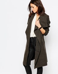 Jdy Wool Wrap Coat Grey