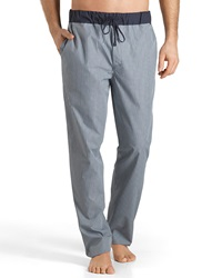 Hanro Night And Day Woven Reversible Lounge Pants Green