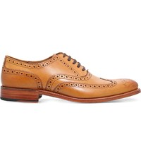 Grenson Dylan Leather Brogues Tan