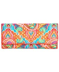 Vera Bradley Signature Trifold Wallet Paisley In Paradise