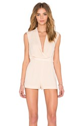 Finders Keepers Dreaming Of You Playsuit Beige