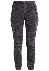 Khujo Felipa Trousers Mottled Dark Grey