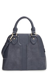 Sole Society Dome Satchel Grey Slate