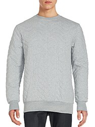 Sovereign Code Colin Quilted Sweatshirt Grey